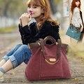 """2016 nueva moda para mujer del bolso bolso Messenger Bag ocio bolsas grandes hombres """" s"""