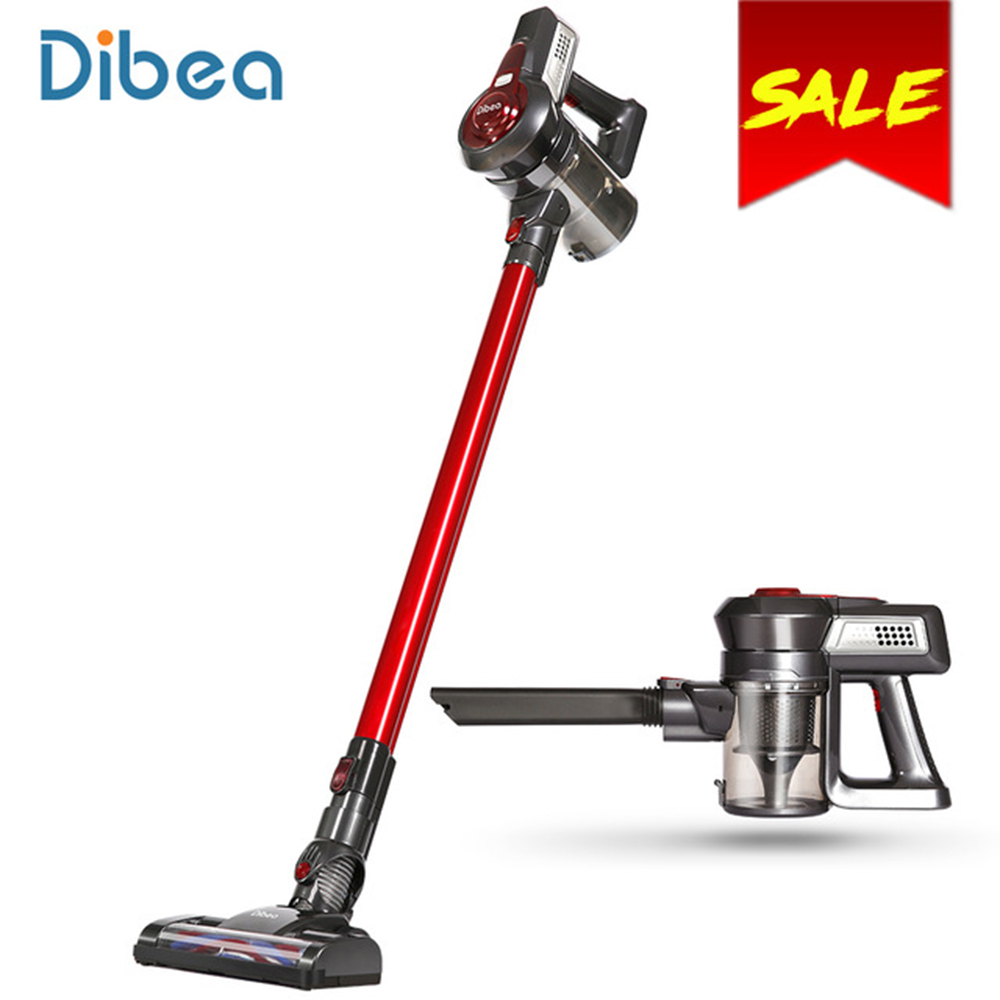 Dibea C17 Portable 2-in-1 Wireless Handheld Cordless Upright Vacuum Cleaner For Home Appliances With Docking Station Sweeper dibea c01 upright wireless vacuum cleaner 2 in 1 powerful car cordless handheld vacuum cleaner for home cleaner sweeping machine