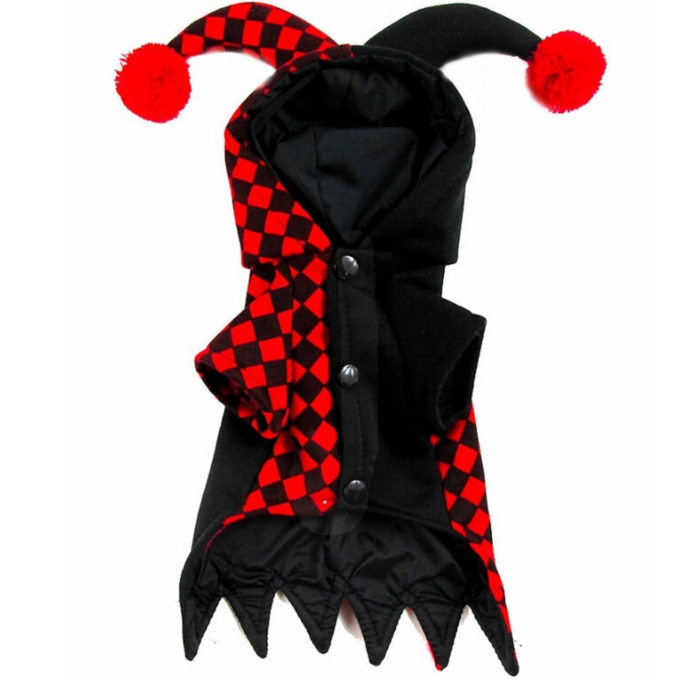 Dog Hooded Clown Halloween Costume  1