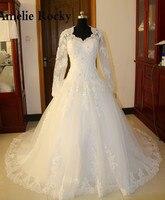 Sophoneiya Real Sample Long Sleeve Lace Wedding Dress 2017 Vintage Bridal Gowns Women Elegant China Wedding