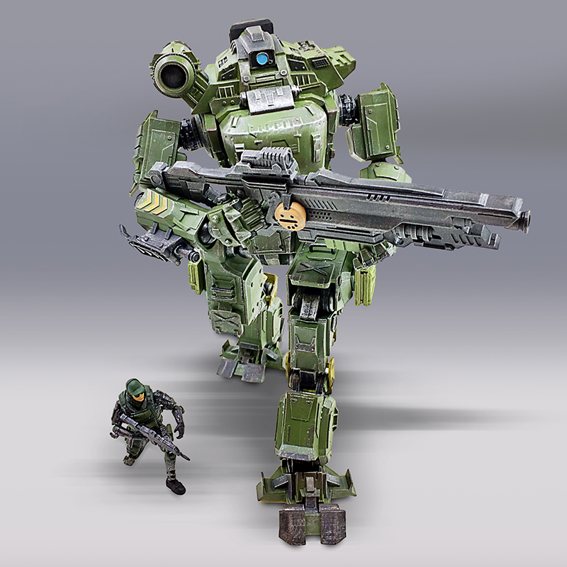 Jos And Toys : Joy toy military the zeus mecha model block toys