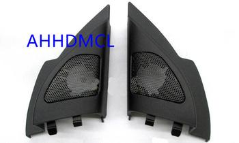 Samochodów wysokotonowy głośnik pudełka gumowe drzwi kątowe dla Mitsubishi Lancer 2011 2012 2013 2014 2015 2016 2017 2018 tanie i dobre opinie Skrzynek głośnikowych Black AHHDMCL ABS+PC+Metal 0 25kg Car audio door angle gum tweeter refitting