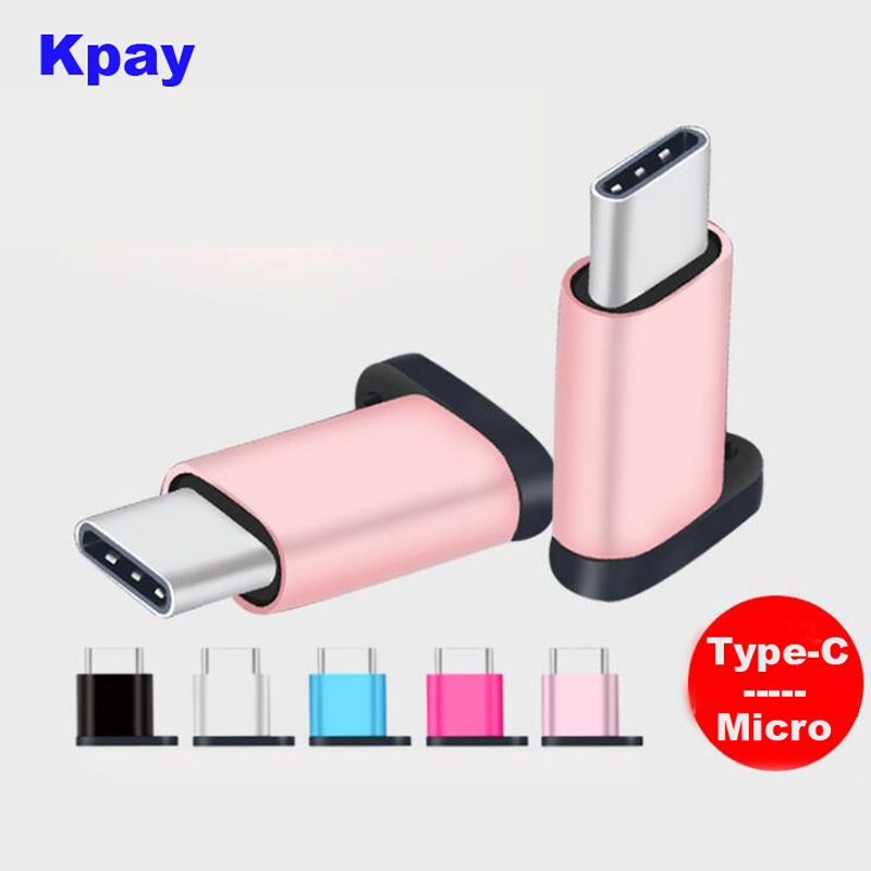 Male Type-C To Micro Female Adapter For Huawei Xiaomi Oneplus Adapter OTG Data Charging Cable Hook Design