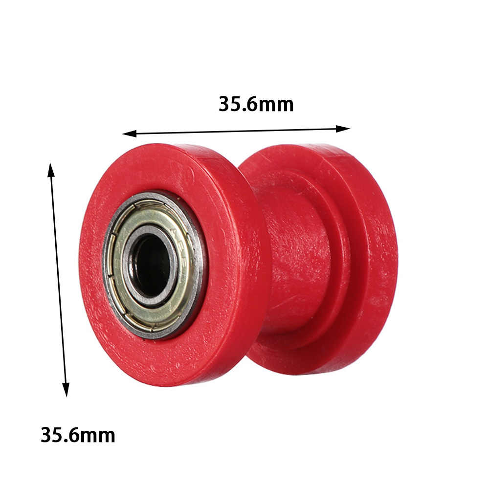Chain Roller Pulley Slider Tensioner Wheel Guide Replacement for Pit Dirt Mini Bike 8mm