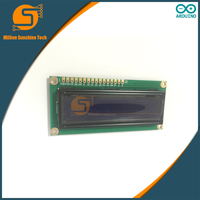 10PCS LCD1602 1602 module Blue screen LCD1602 LCD monitor 1602 5V blue screen and white code for arduino