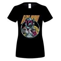 GILDAN Boba Fett T Shirt Brand Summer Fashion Women Contton Casual T Shirts Short Sleeve T