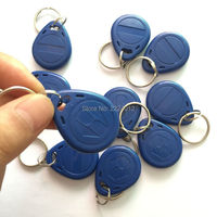 Proximity LF 125Khz T5557 T5567 T5577 Rewritable Smart ID Tag Keyfob For RFID Card Reader Copier