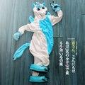 Entrega rápida unicórnio com capuz Hoodie Anime Animal Cosplay Unisex adulto macacão pijama unicórnio pijamas para adultos
