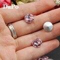 8mm 10mm 12mm 14mm 16mm 18mm Rosa Claro Color de Rivoli cristal Imitación De Cristal Facetado Cuentas de Piedra Para La Joyería haciendo