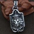 Стерлингового Серебра 925 Пробы Кулон мерное голова льва мужские и женские Wenwan яркий тип кулон
