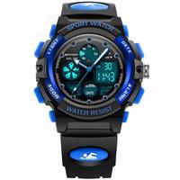Children Sports Watches Military Fashion LED Digital Watch Men Boys Girls Kids Waterproof Watch Wristwatches Gifts