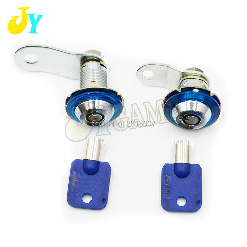 5 Pcs/lot Plastic Core 21mm 32mm Cam Lock Door Lock For Arcade Cabinet Slot Machine Pinball Games Machines Pleasant In After-Taste Coin Operated Games