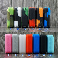 10pcs Silicone mod shield for Voopoo MOJO 88W 2600mAh case rubber Cover Skin Warp Sticker Sleeve shell hull Electronic Cigarette