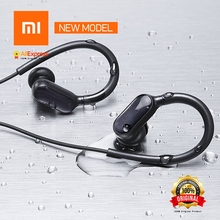 Agosto Novo Xiao mi mi esportes fone De ouvido bluetooth Versão Ni Mi crophone à prova crophone Água Bluetooth 4.1 Fone De ouvido Sem Fio Fones De Ouvido Com Mi