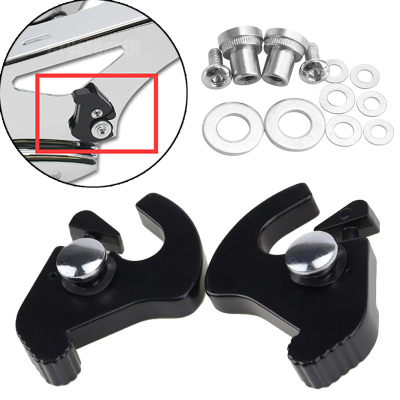 Provided Detachable Rotary Sissy Bar Rack Docking Latch Kit For Harley Touring Road King Electra Street Glide Softail Fat Boy Sportster Frames & Fittings