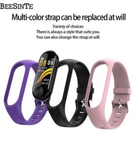 Image 5 - Smart armband waterdichte hartslagmeter bloeddruk voor Fitness Tracker ondersteuning multi sport modus voor Andriod slimme band