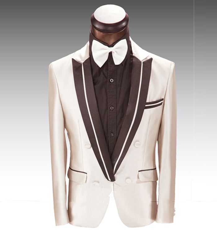 Cream Suits For Prom - Hardon Clothes