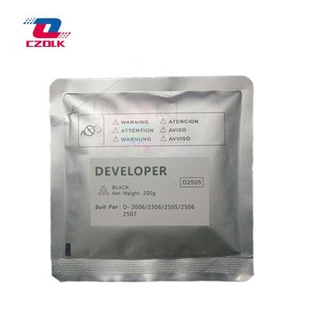 New compatible D2505 developer for Toshiba 2006 2307 2507 2306 2506 200g/bag