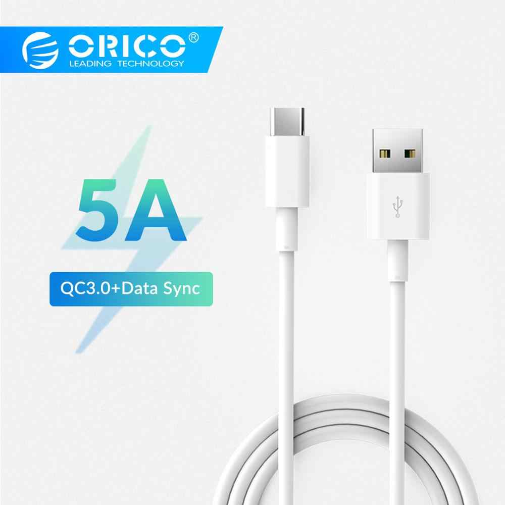 ORICO AC5 USB Type C Cable 5A Max  Charging Cable USB2.0 Data Cable For Xiaomi Huawei Samsung
