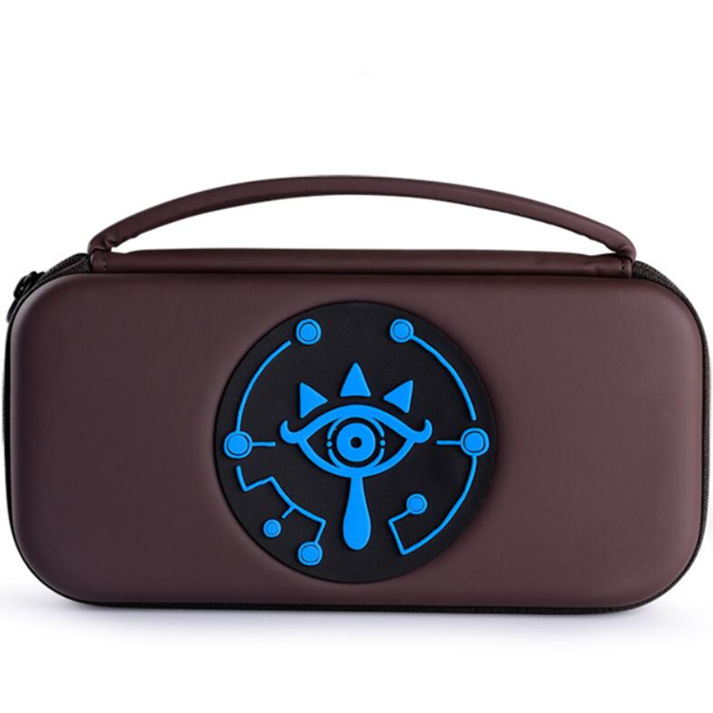 The Legend of Zelda Sheikah Slate Storage Bag For Switch Console Travel Carry Cover Protector Case Bags NS  2