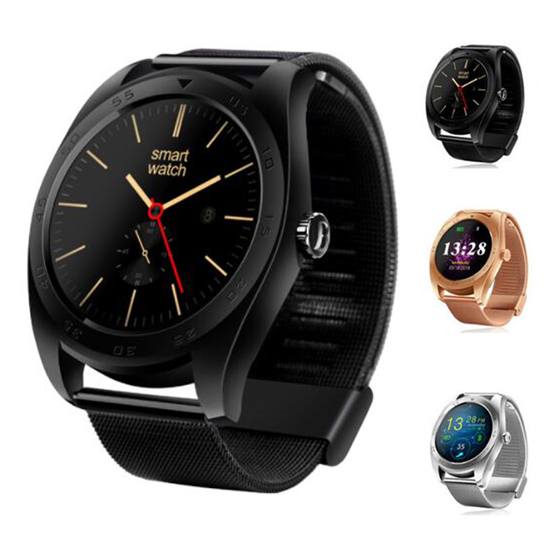 New K89 Smart Watch MTK2502C Bluetooth Support Heart Rate Monitor Wake Up Gesture with Changeable Strap