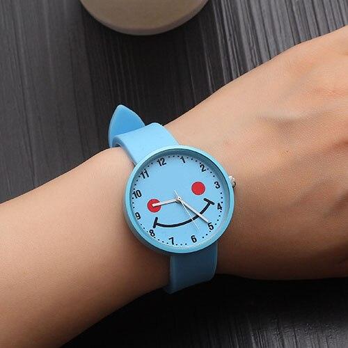 JBRL Brand Silicone Wrist Clock 2018 Students Children Watch Kids Watches Girls Child Hours Brand Quartz Wristwatch For Gift