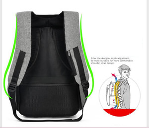 Anti-theft Backpack Bag 15.6 Inch Laptop Notebook Mochila Male Waterproof Back Pack Backbag Large Capacity School Backpack