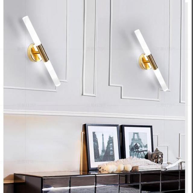 2 Lichter G9 Led Wandleuchte Salon Bild Lichter Schlafzimmer Ankleidezimmer  Spiegel Wandleuchten Moderne Gold Korridor Innen