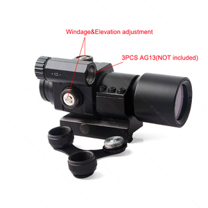 Image 5 - 1X30 Red&Green Dot Optics M2 Holographic Sight RiflescopeAiming Scope Collimating Rifle Scope Hunting Accessory