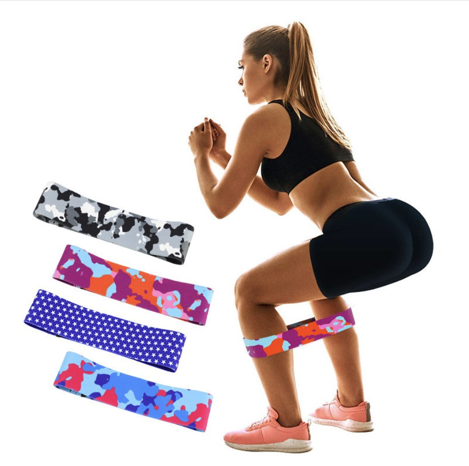 GR Hip Resistance Band Booty Elastic Bands Workout Exercise For Legs Thigh Glute Butt Squat Bands Fitness Yoga Training Gym