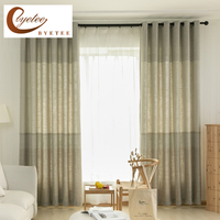 {byetee} Luxury Curtains for Living Room Bedroom Door Drapes Shade Kitchen Window Customize Blackout Cortinas Dormitorio