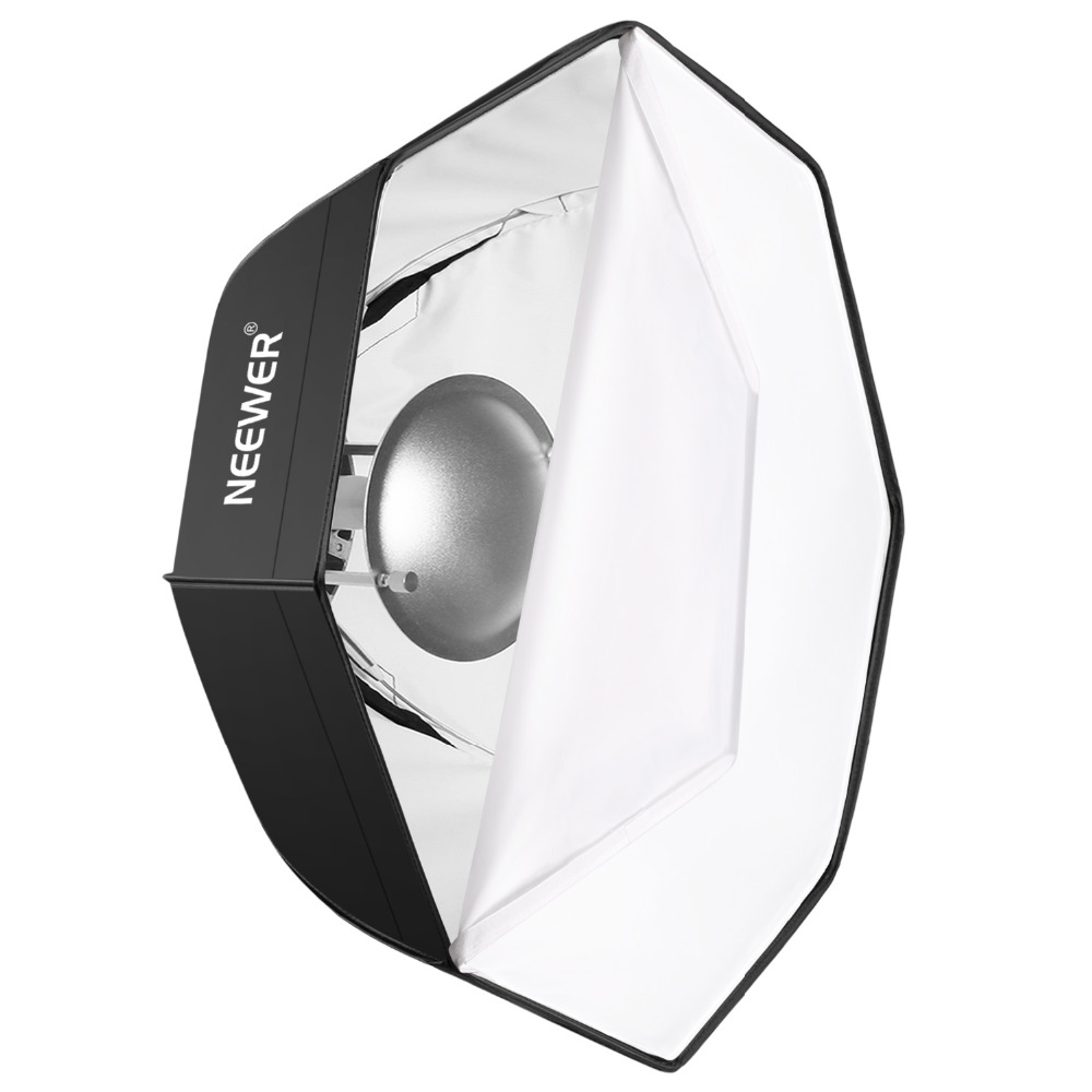 Neewer Photo Studio 24 inches/60 cm Beauty Dish Octagonal Softbox Bowens Speedring for Bowens for Portrait Product Photography