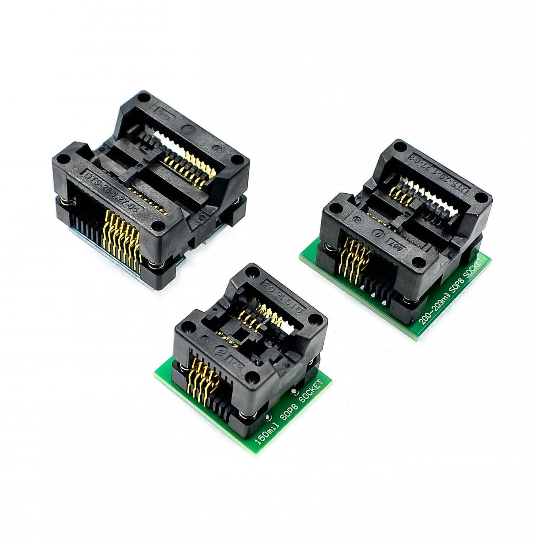 SOP16 To DIP8 Wide-body Seat Wide 150mil 200mil 208mil 209mil 300mil Programmer SOP8 Adapter Socket For EZP2010 EZP2013 CH341A