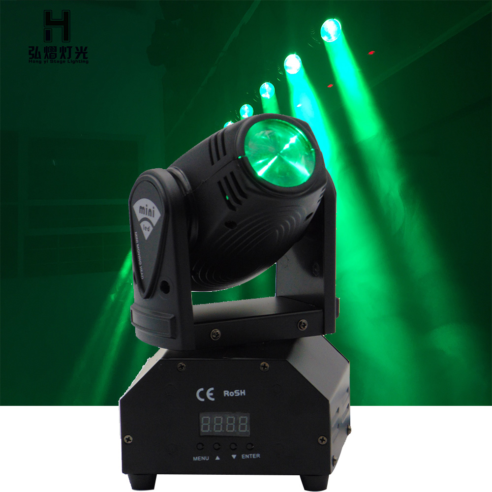 10w moving head Beam RGBW CREE LED head/Four moving head light professional stage lighting equipment стоимость