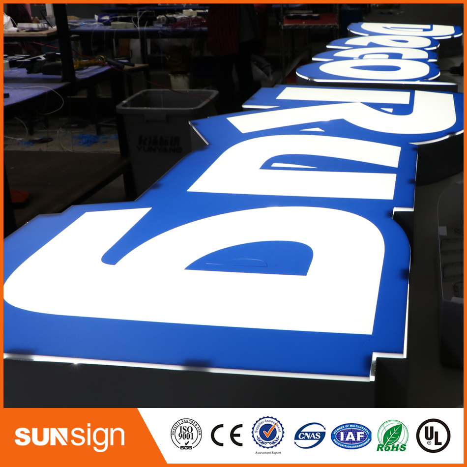 Indoor Or Outdoor Led Lighting Advertising Signage