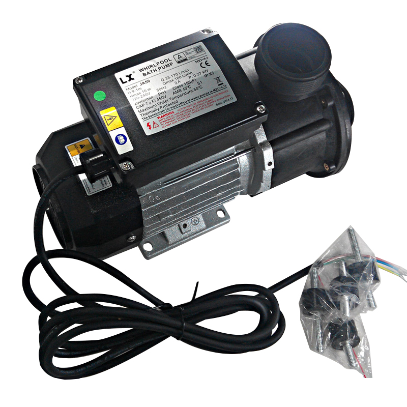 0 5HP spa circulation pump and JA50 hot tub Pool Pump for chinese spa for jnj