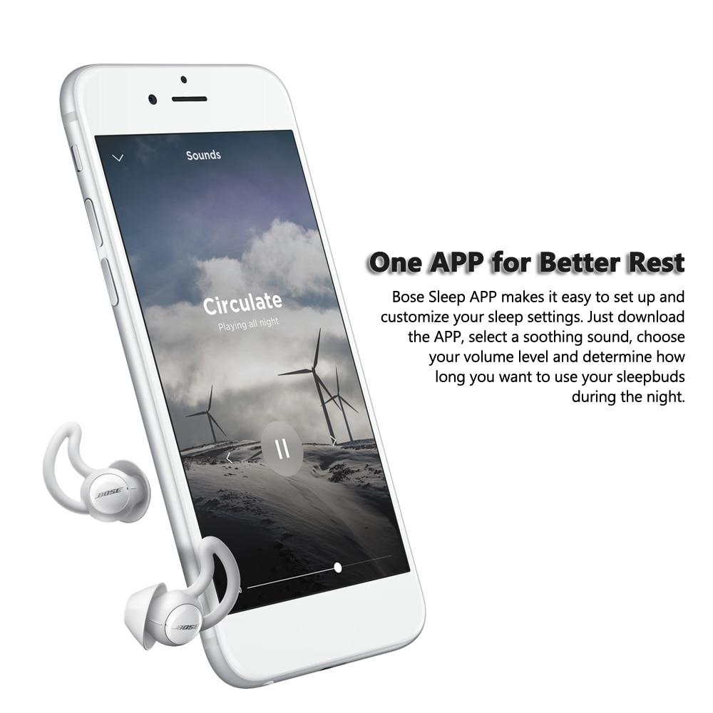US $278 19 32% OFF Bose Noise Masking Sleepbuds Sleep Earplug True Wireless  Earbuds Soothing Masking Sounds for Sleepers-in Bluetooth Earphones &