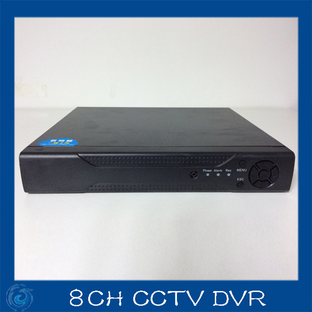 8ch cctv dvr recorder 960h full d1 h 264 p2p cloud networt digital