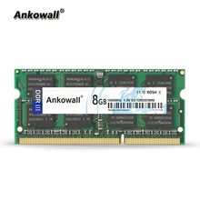 Ankowall DDR3 SO-DIMM 8 Гб Оперативная память 1600/13333 МГц Тетрадь памяти PC3-10600/12800 ноутбук Оперативная память