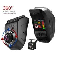 New Car DVR Russian 3 in 1 Radar Detector Dual lens Video Recorder 1296P Dash Cam Build in Global GPS Night Vision FCWS ADAS