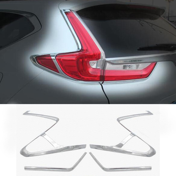 Styling de carro Para Honda CRV CR-V 2017 Lanterna Traseira Do Carro Luzes Traseiras Cobre Cromo Decoração Guarnição Chromium Styling Universal Externa