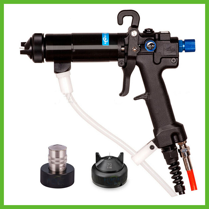SAT0152 Electrostatic Gun Water-Based Coating Electrostatic Spray Gun Manual Static Oily Lacquer Waterborne Lacquer Paint Gun scn 1200 5 5v single output power supply with parallel function