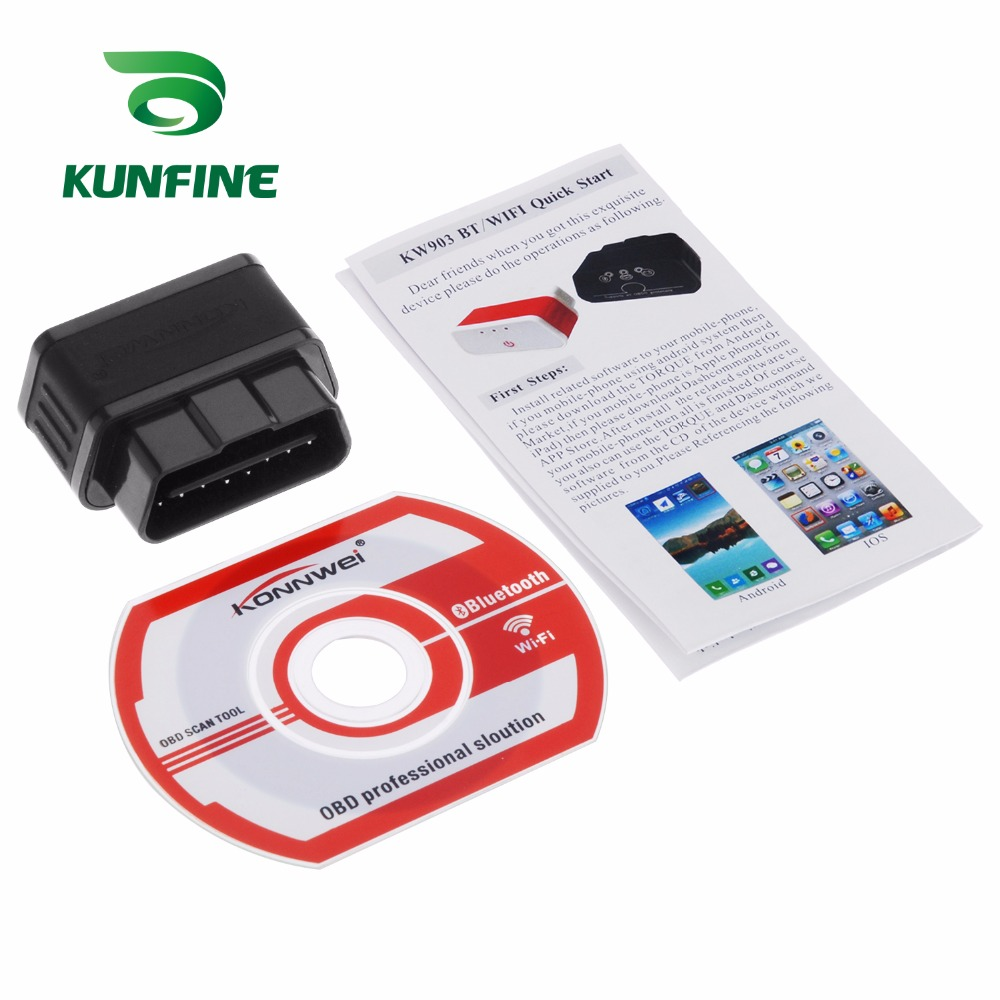 Auto Diagnostic Tool Car engine code Scanner Vehicle fault reader KF-A1189_8224