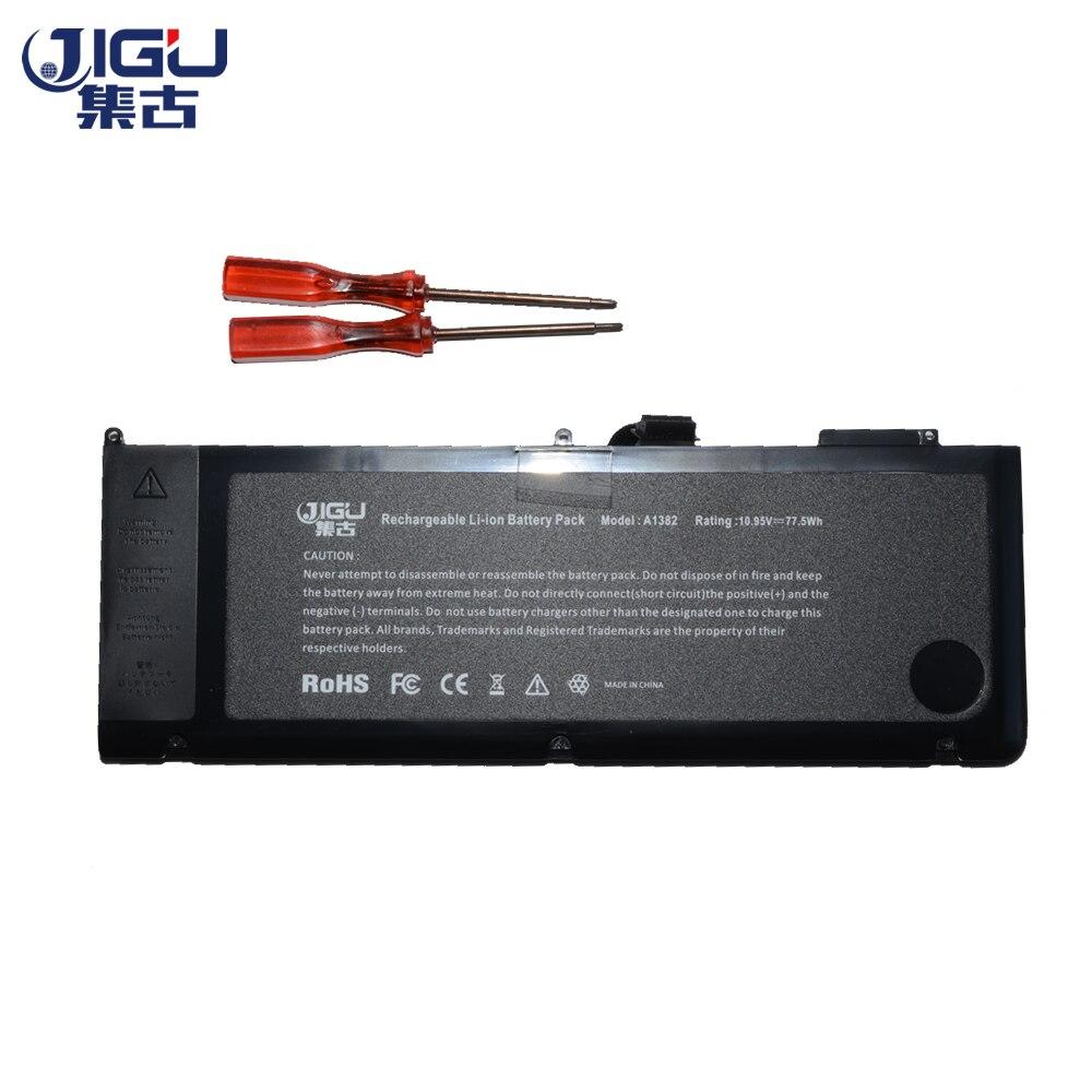 JIGU Battery A1382 020 7134 A 661 5844 For MacBook Pro 15 A1286 2011 2012 Model