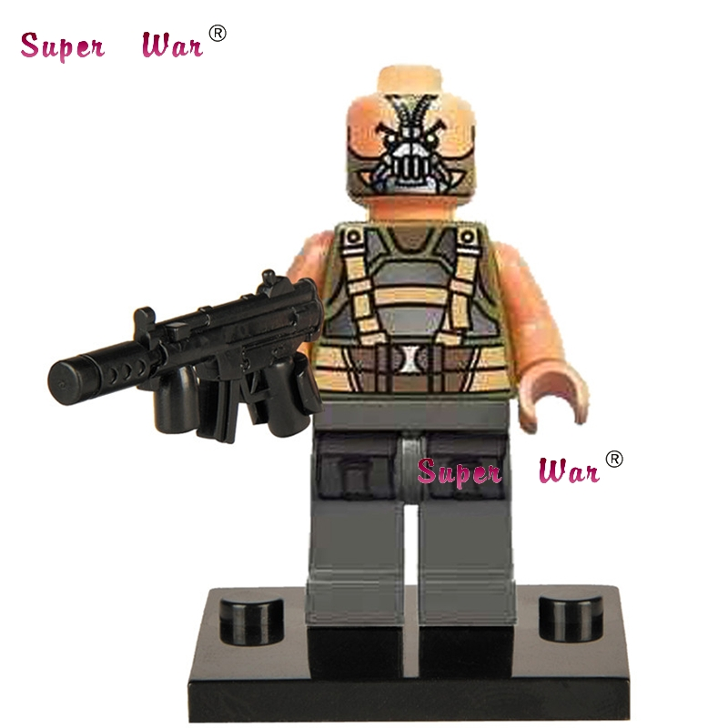 20pcs star wars superhero marvel Bane Nuke building blocks action figure bricks model educational diy baby toys