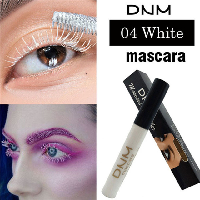 4 Colors Mascara 4D Curling Volume Eyelash Extensions Makeup Eyelash Lengthening Maskara Make Up Black/Brown/Coffee/White 5
