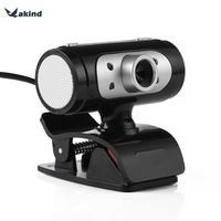 Full HD 1280*720 720 P 4 LED ночник веб-камера Камера с микрофоном Микрофон для компьютера PC ноутбук