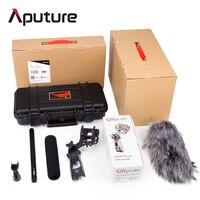 Aputure божество комплект супер кардиоидный конденсаторный пушка видео Микрофон ветрового водонепроницаемый безопасный чехол для Nikon камеры