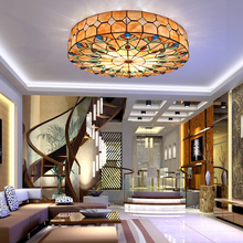 Mail Retro Residential Lighting Style Ceiling Creative Lamps Shell Bedroom Living Room Energy Saving
