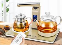 Automatic water boiler glass raised pot with boiled tea heater